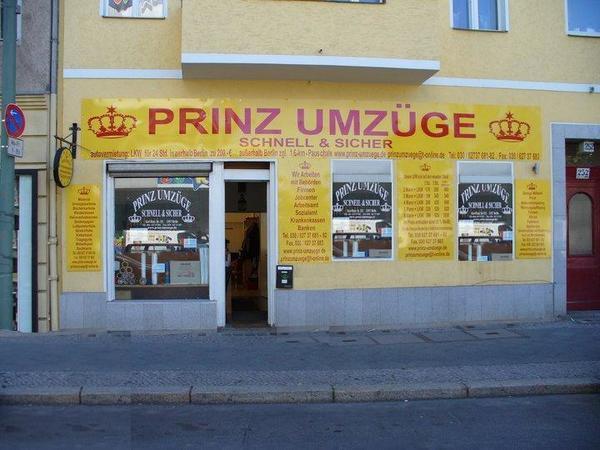 Prinz Umzüge berlin Tel: 030 627 37 681 www.prinz-umzuege.de gebraucht kaufen  12057 Berlin