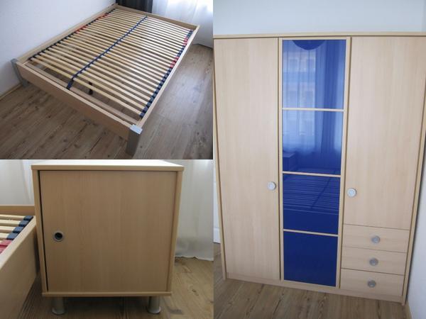 kleiderschrank blau neu und gebraucht kaufen bei. Black Bedroom Furniture Sets. Home Design Ideas