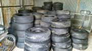 Reifen und teilweise