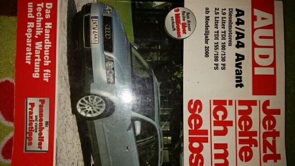 Reperaturbuch Audi A4 Avant, Diesel