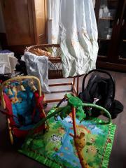 Riesen Babyset: Wippe,