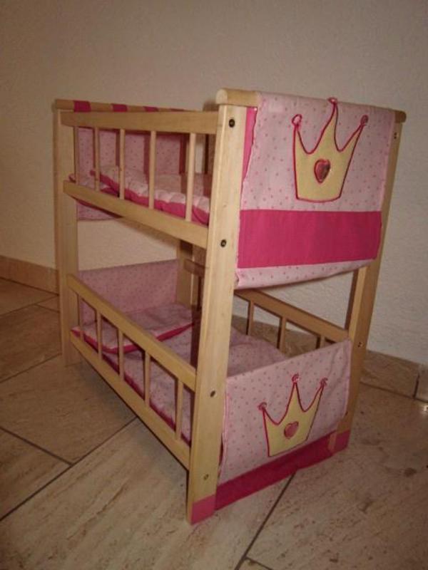 roba puppenbett etagenbett aus holz in reichartshausen kaufen und verkaufen ber private. Black Bedroom Furniture Sets. Home Design Ideas
