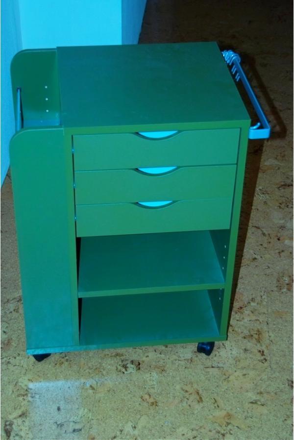 rollcontainer sonne ikea gr n in neustadt b rom bel kaufen und verkaufen ber private. Black Bedroom Furniture Sets. Home Design Ideas