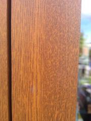 Rollladenkasten in Holzoptik