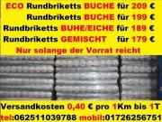 Rund Holzbriketts Buche