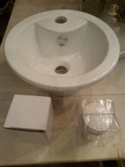 aufsatzwaschbecken haushalt m bel gebraucht und neu. Black Bedroom Furniture Sets. Home Design Ideas
