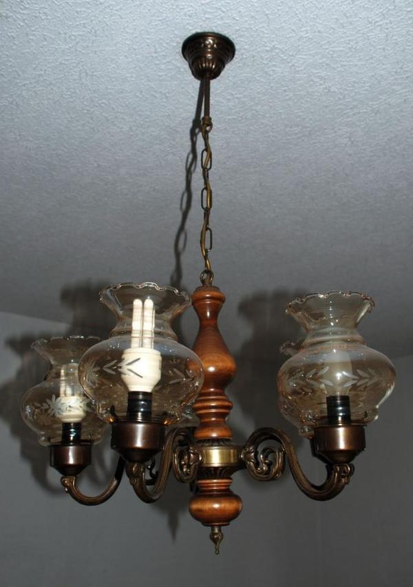 Rustikale deckenleuchte in leun lampen kaufen und for Gebrauchte lampen