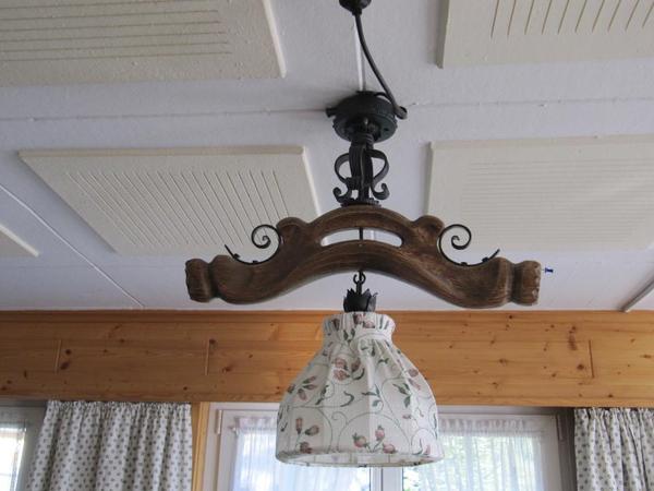 rustikale deckenleuchten in au lampen kaufen und verkaufen ber private kleinanzeigen. Black Bedroom Furniture Sets. Home Design Ideas
