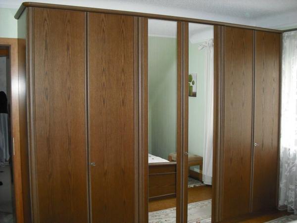 schlafzimmer eiche rustikal in nonnweiler schr nke. Black Bedroom Furniture Sets. Home Design Ideas