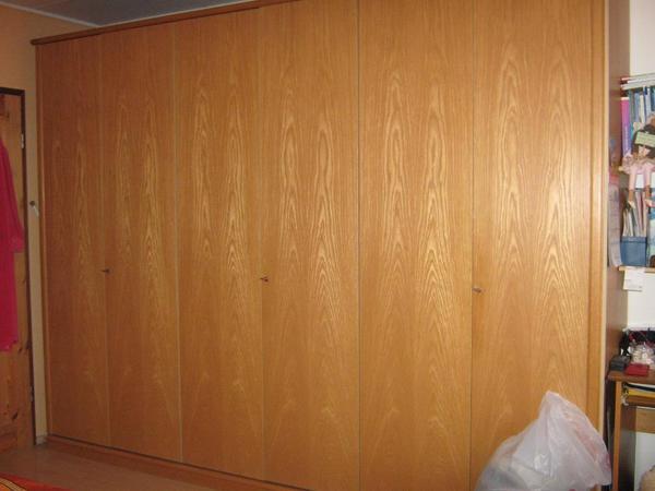 schlafzimmer schrank doppelbett mit berbau in sternenfels. Black Bedroom Furniture Sets. Home Design Ideas