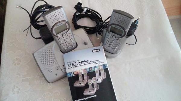 schnurlos mit ab telefone analog gebraucht kaufen. Black Bedroom Furniture Sets. Home Design Ideas