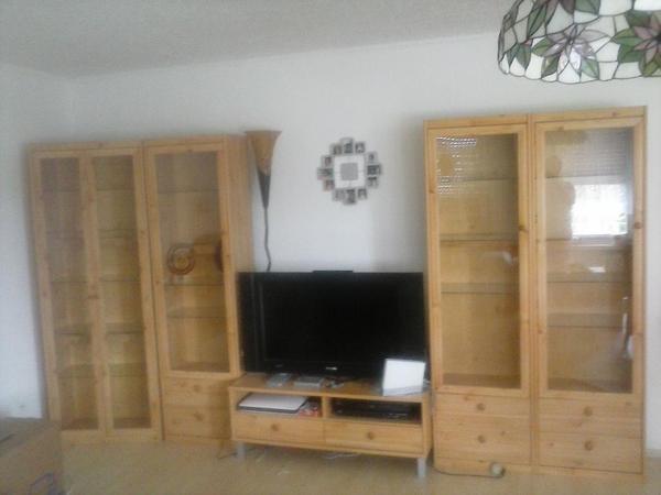 Schöne Wohnwand in Kieferholz zu Verkaufen Gebraucht in ...