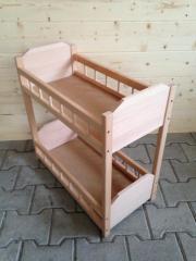 puppenhochbett holz kinder baby spielzeug gebraucht kaufen oder kostenlos verkaufen. Black Bedroom Furniture Sets. Home Design Ideas