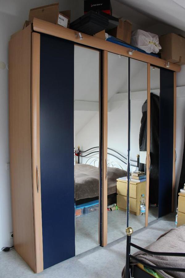 schiebet ren kleiderschrank neu und gebraucht kaufen bei. Black Bedroom Furniture Sets. Home Design Ideas