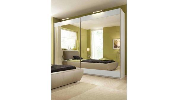 ungenutzt wurde nur 1 x auf und wieder abgebaut fronten vollverspiegelt tiefe 69 cm h he. Black Bedroom Furniture Sets. Home Design Ideas