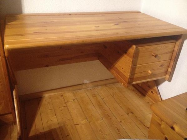 schreibtisch holz neu und gebraucht kaufen bei. Black Bedroom Furniture Sets. Home Design Ideas