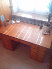 Schreibtisch fichte massiv haushalt m bel gebraucht for Jugendzimmer zu verschenken