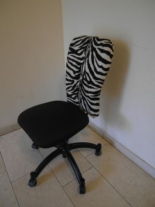 schreibtischstuhl nominell ikea drehstuhl zebra muster in. Black Bedroom Furniture Sets. Home Design Ideas