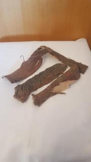 Seemandelbaumrinde in verschiedenen