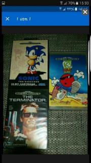 Sega Megadrive Spiele