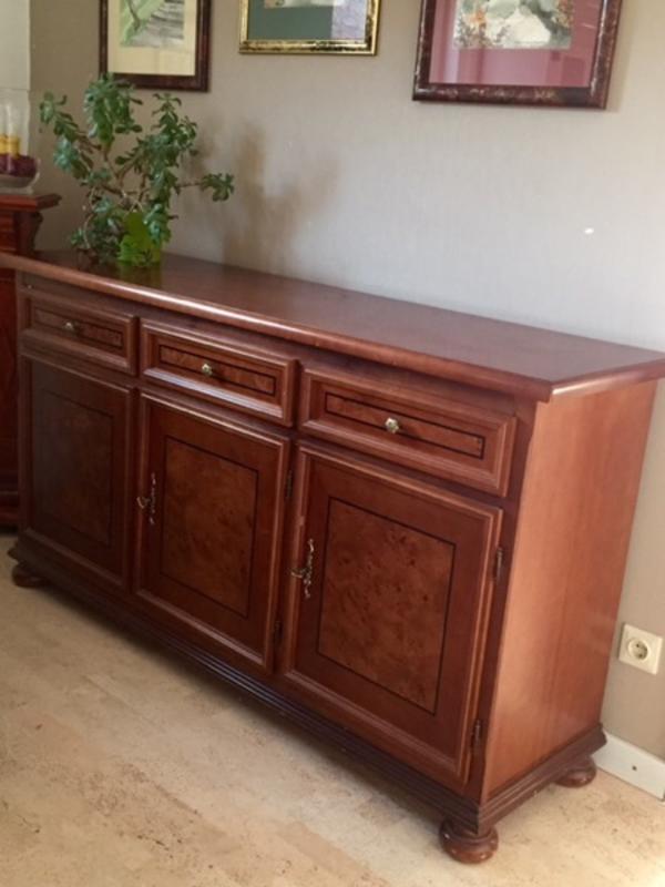 nussbaum massiv kaufen gebraucht und g nstig. Black Bedroom Furniture Sets. Home Design Ideas