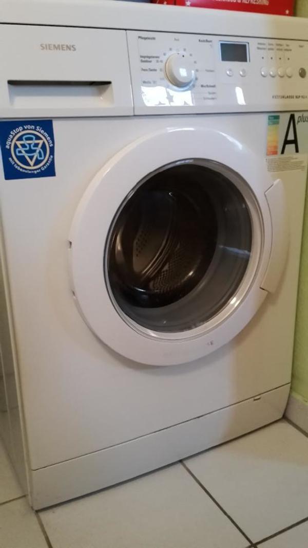 siemens extra klasse waschmaschine top zustand in flachslanden waschmaschinen kaufen und. Black Bedroom Furniture Sets. Home Design Ideas