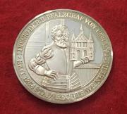 Silbermedaille Ludwig II.