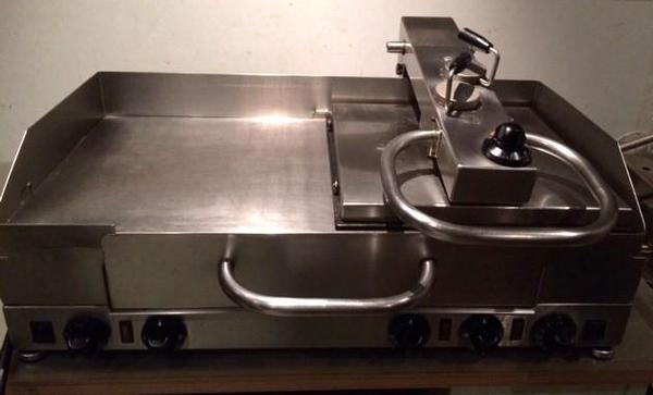 silex grill s249 mit duranell edelstahl verbundplatten in. Black Bedroom Furniture Sets. Home Design Ideas