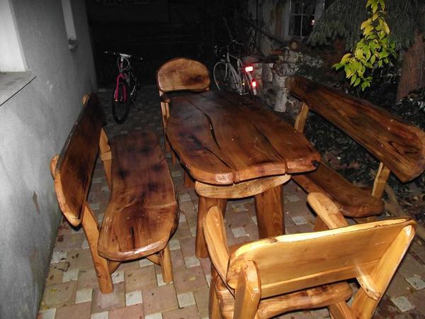 sitzgruppe akazie massivholz gartenbank in alfeld gartenm bel kaufen und verkaufen ber. Black Bedroom Furniture Sets. Home Design Ideas