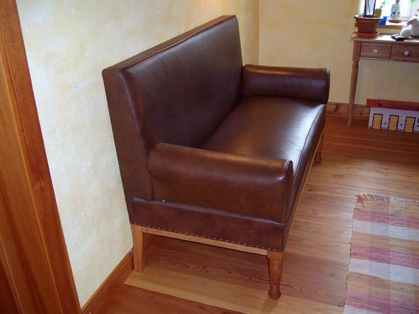 sofa antik leder in grebenhain designerm bel klassiker kaufen und verkaufen ber private. Black Bedroom Furniture Sets. Home Design Ideas
