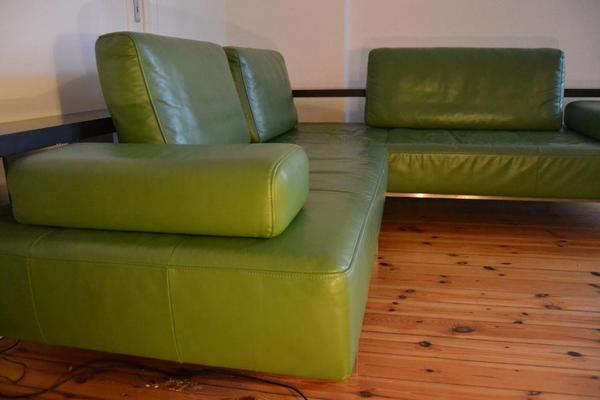 Sofa Rolf Benz Dono Gr Nes Leder 2 50 X 2 40 In Berlin Designerm Bel Klassiker Kaufen Und
