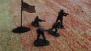 Soldaten Figuren (Kunststoffguß)