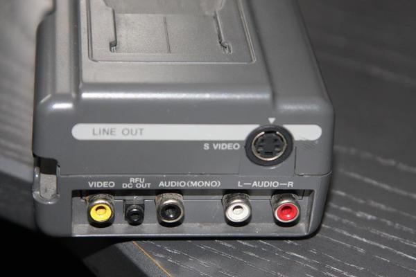 sony camcorder hsa v 500 video 8 handycam station fast. Black Bedroom Furniture Sets. Home Design Ideas
