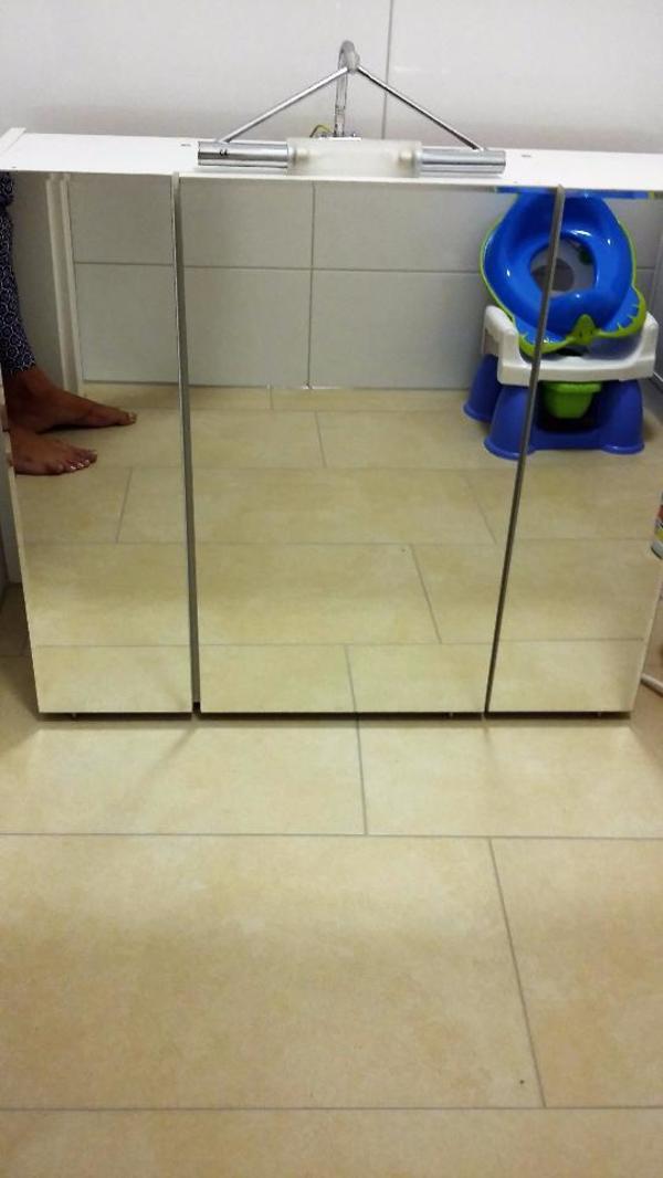 spiegelschrank bad neu und gebraucht kaufen bei. Black Bedroom Furniture Sets. Home Design Ideas