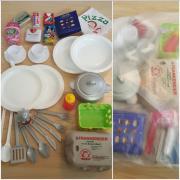 Spielzeug Geschirr Essen