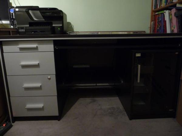 80 cm h he 77 cm farbe braun schwarz mit alu. Black Bedroom Furniture Sets. Home Design Ideas