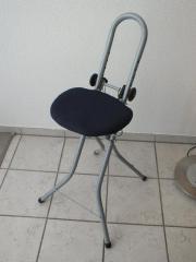 Stehstuhl, Sitzhilfe, Bügelstuhl