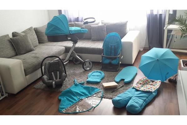 kombi kinderwagen neu und gebraucht kaufen bei. Black Bedroom Furniture Sets. Home Design Ideas
