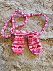 süße Babyhandschuhe