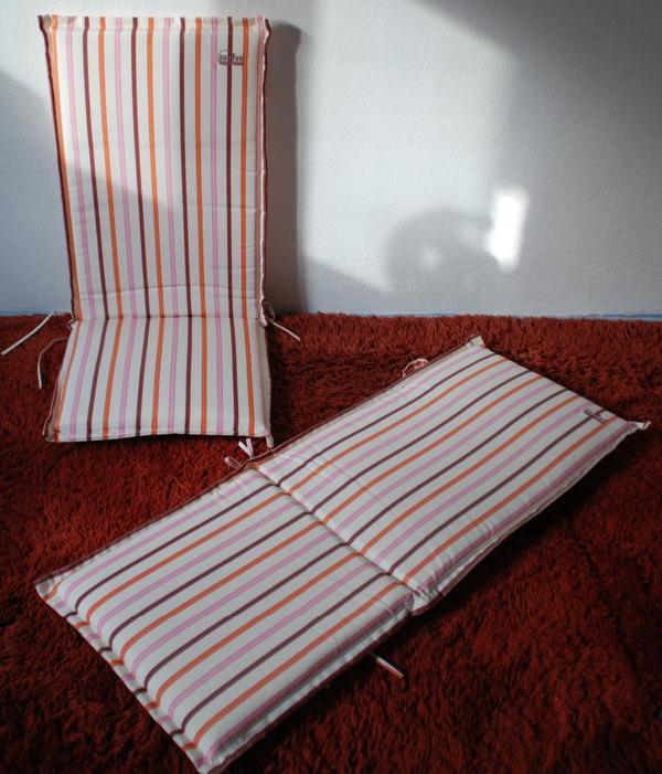 sunfun luxus hochlehner auflagen kissen polster 2 st ck neu in schifferstadt gartenm bel. Black Bedroom Furniture Sets. Home Design Ideas