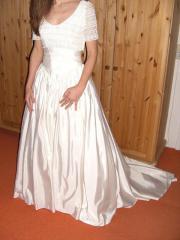Superschönes Hochzeitskleid Gr.