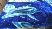 Tagesdecke mit Delfinen