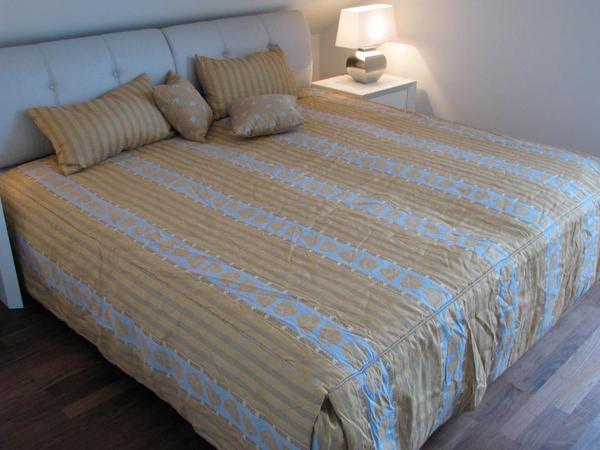 tagesdecke von ruf inkl gardinen und kissen in m nchen matratzen rost bettzeug kaufen und. Black Bedroom Furniture Sets. Home Design Ideas