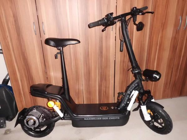 tante paula maximilian 2 elektro roller scooter mit. Black Bedroom Furniture Sets. Home Design Ideas