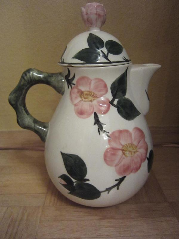 teekanne kaffekanne rosenthal serie wildrose in m nchen geschirr und besteck kaufen und. Black Bedroom Furniture Sets. Home Design Ideas