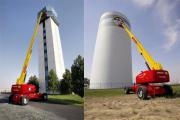 Teleskopbühne Genie S-