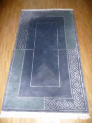 Teppich blau, 90
