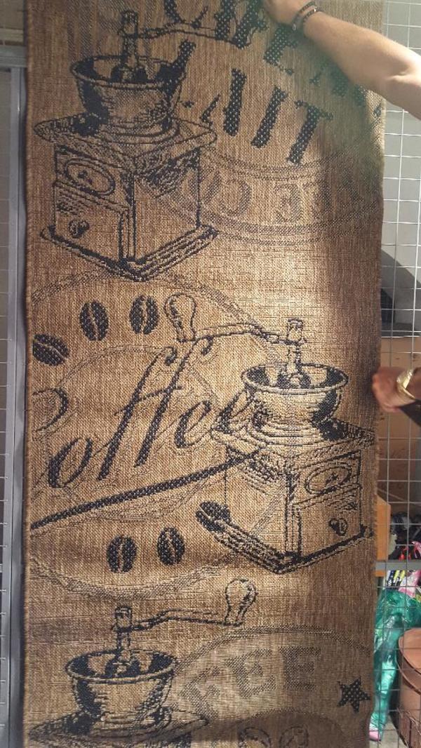 Teppich Coffee mit KaffeemühlenMotiv in München