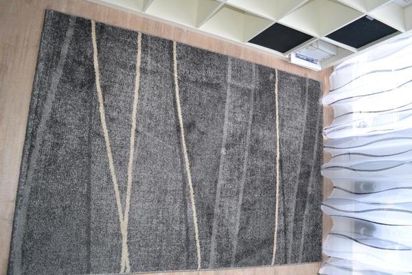 Teppich grau creme 140×200 in Friedberg  Teppiche kaufen