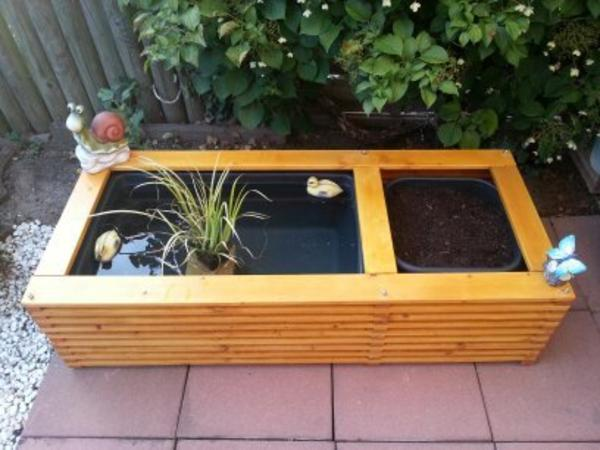 terrassenteich oder f r balkon und garten in g ster sonstiges f r den garten balkon terrasse. Black Bedroom Furniture Sets. Home Design Ideas